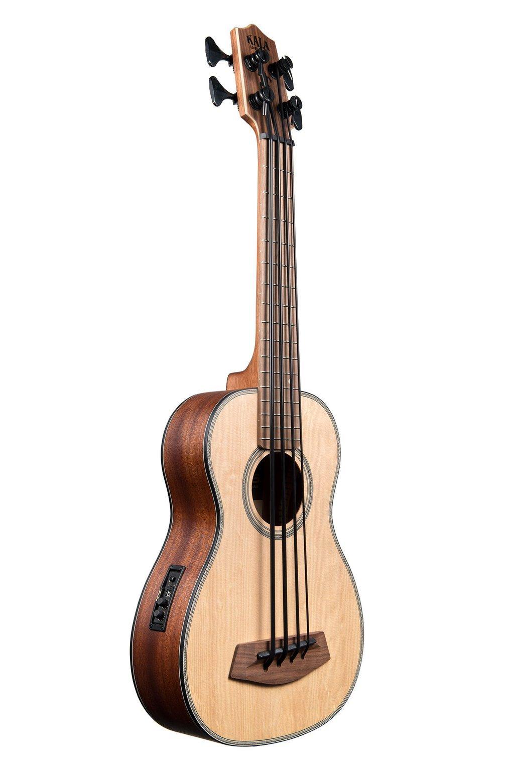 Kala U-Bass Solid Spruce Top Mahogany Back w/Bag