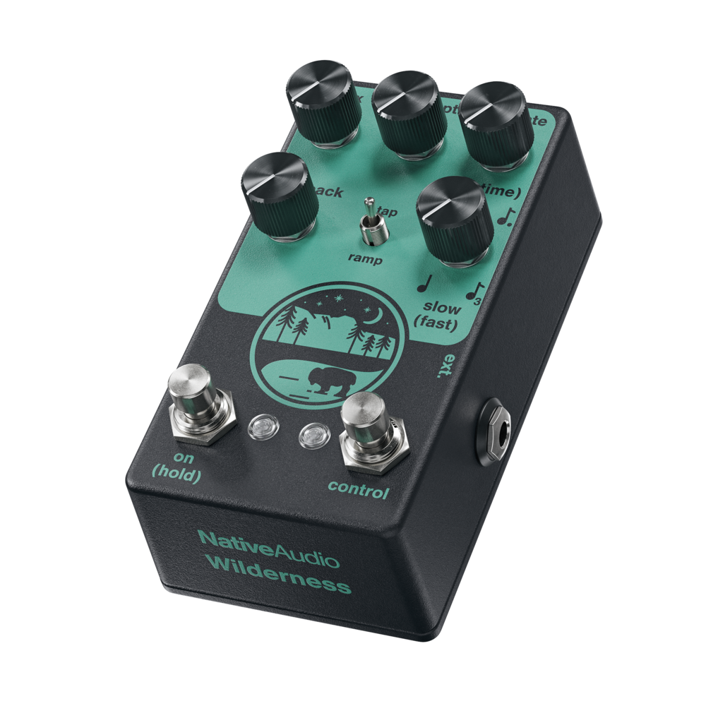 Native Audio Wilderness Tap/Ramp Delay Effect Pedal