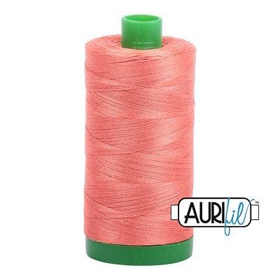 Aurifil Cotton Thread Solid 40wt 1000m SALMON