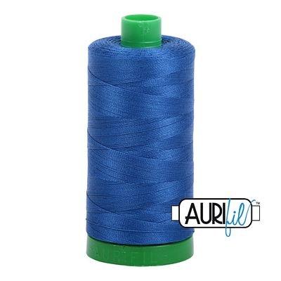 Aurifil Cotton Thread Solid 40wt 1100yds Dark Cobalt