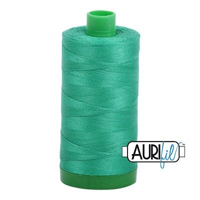 Aurifil Cotton Thread Solid 40wt 1100yds Emerald