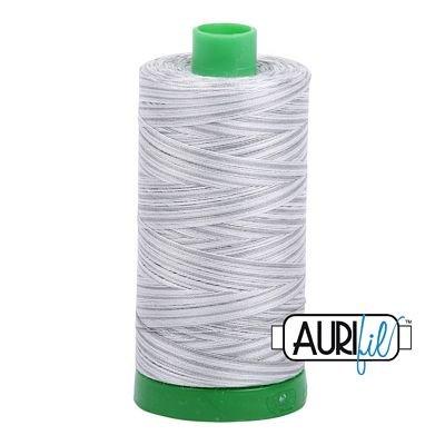 Aurifil Cotton Thread Solid 40wt 1100yds Silver Moon