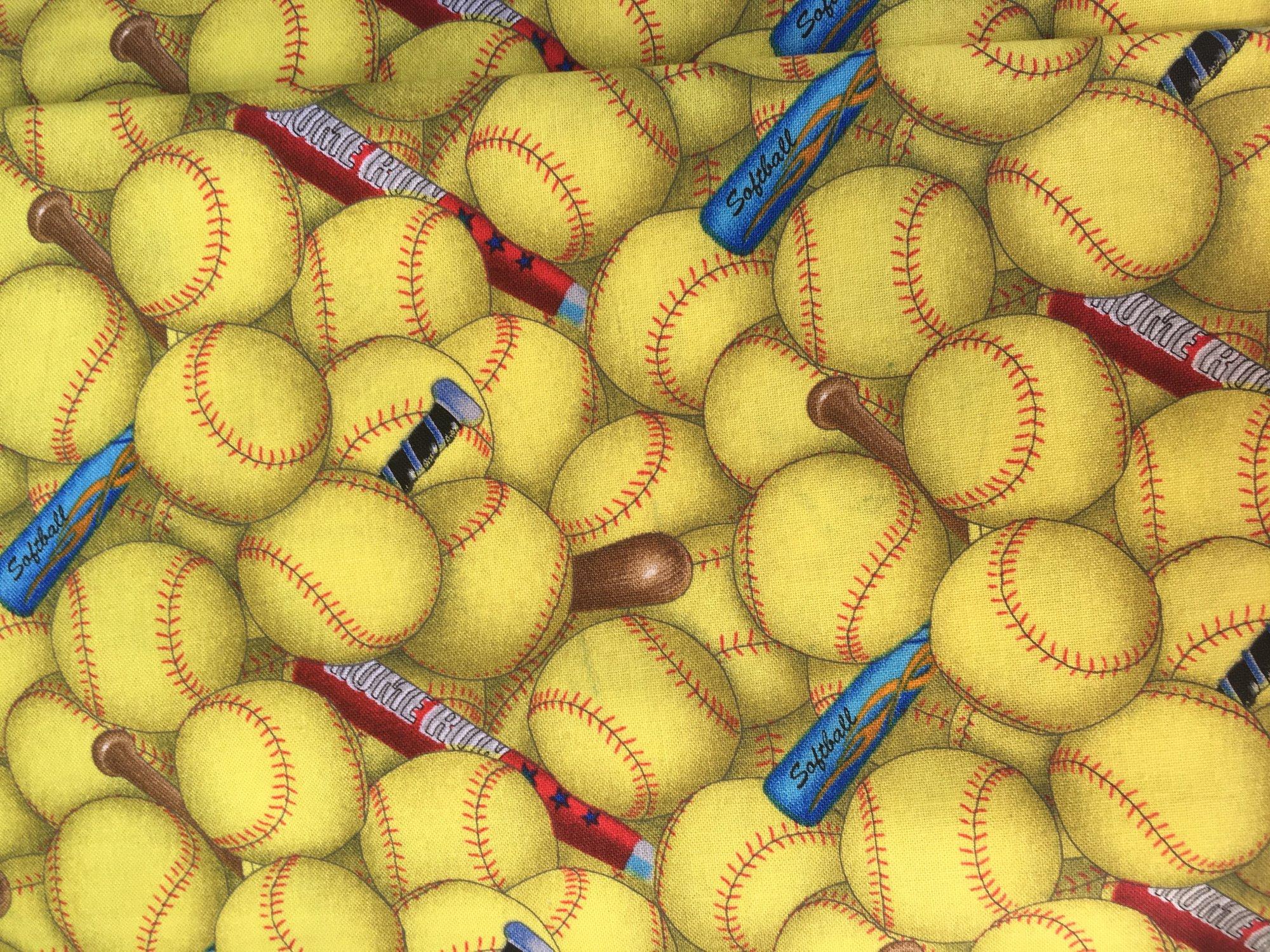 Yellow Softballs