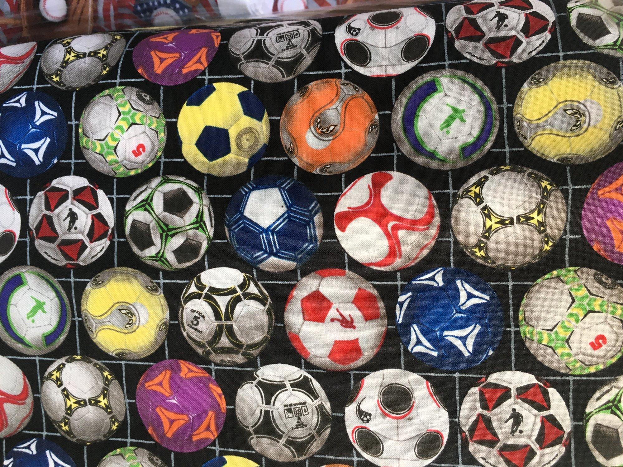 Soccer Balls Black