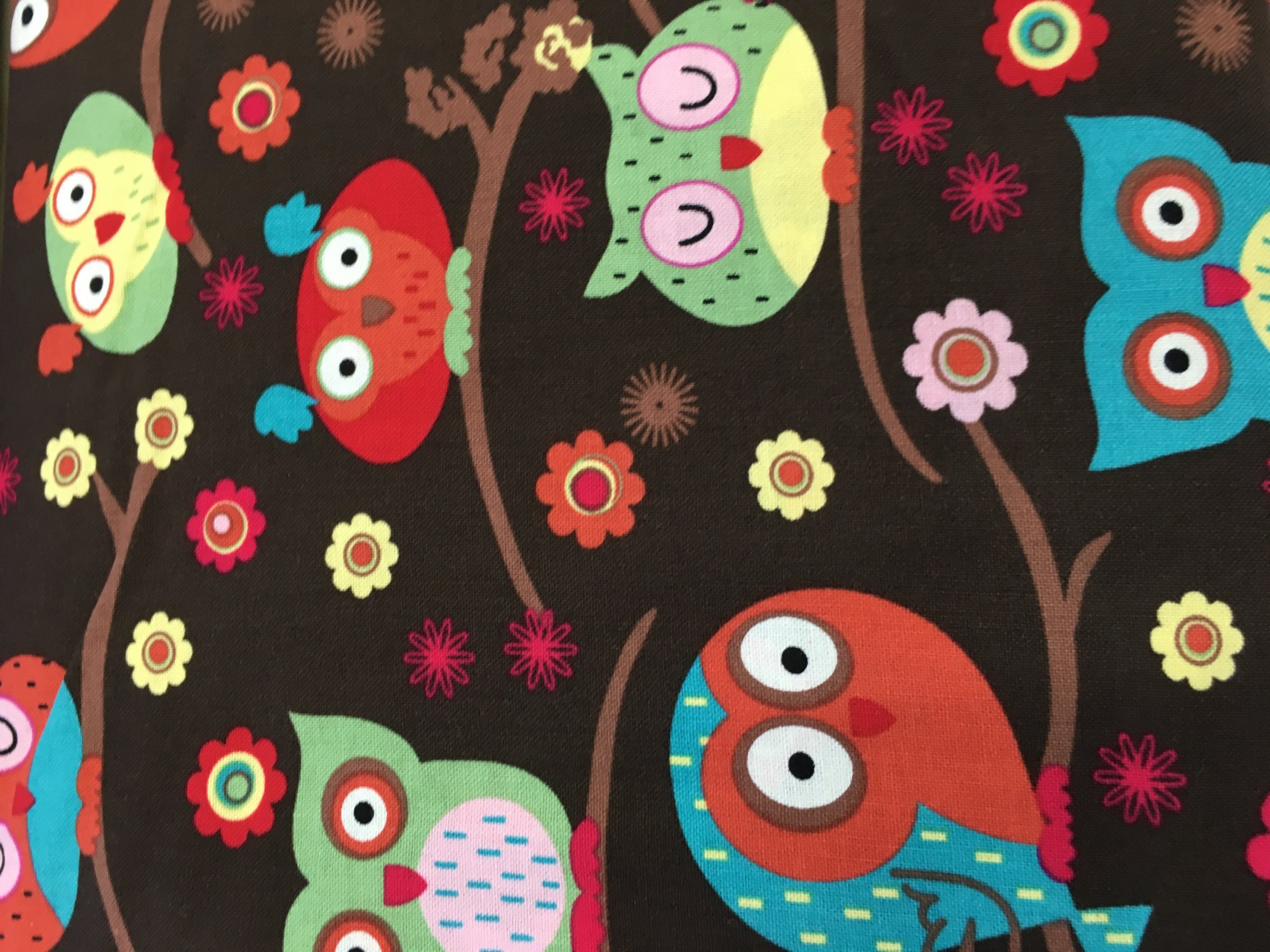 Owls on Brown
