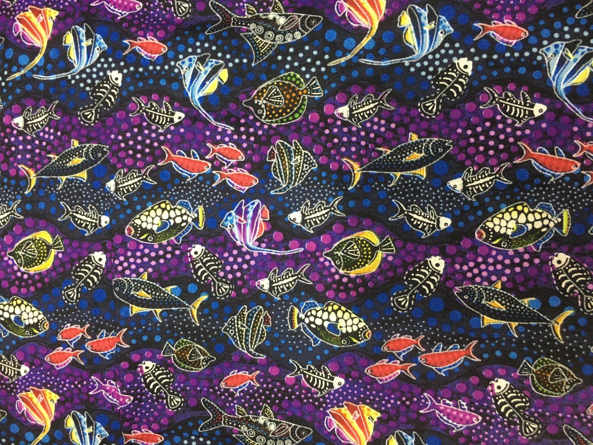 Way Under Fish Blue / Purple