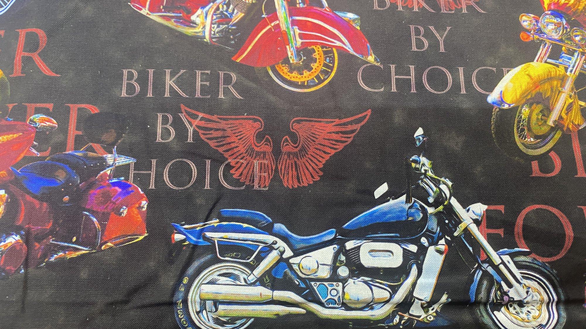 Biker by Choice Allover