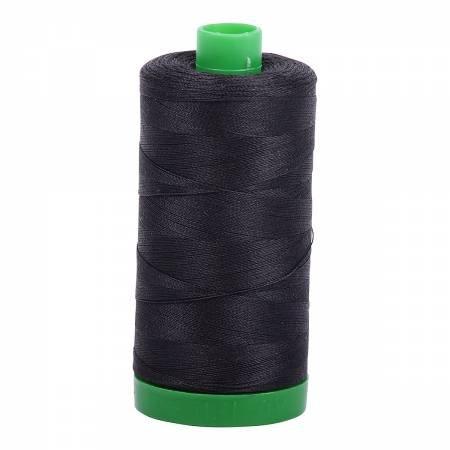 Aurifil Cotton Thread Solid 40wt 1100yds Dark Grey