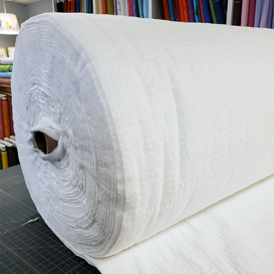 Batting Roll Hobbs bleached 100% cotton 96in wide