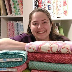 Sew Together quilt shop has lots of beautiful quilting fabric, and friendsly staff.