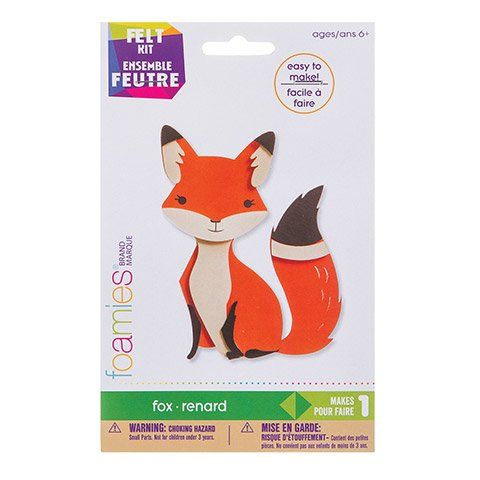 Foamies? Fox Kit: Felt - 6 inches