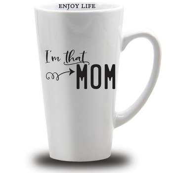 16 oz I'm that Mom Stoneware