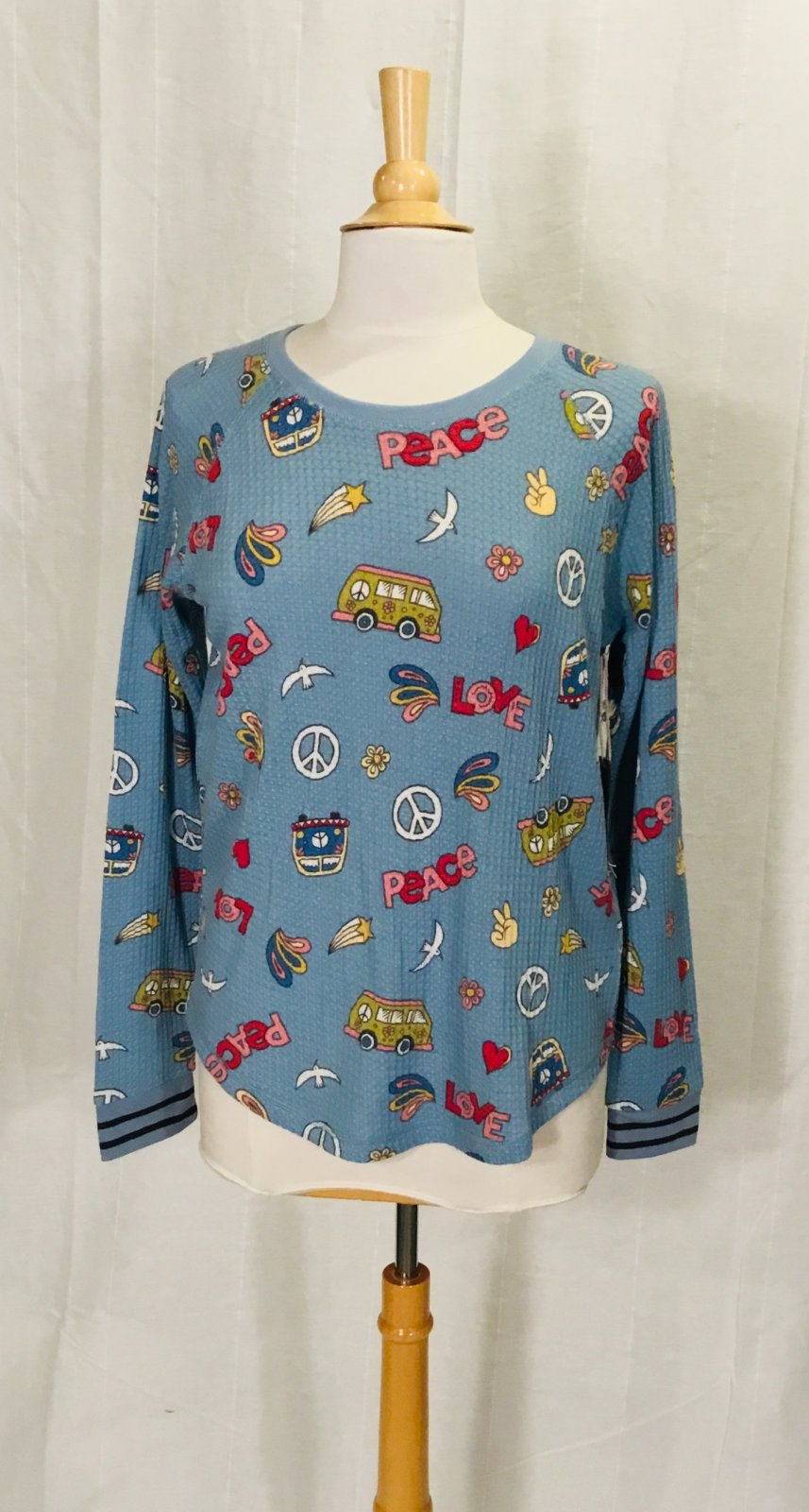 PJ Salvage L/S Peace Thermal