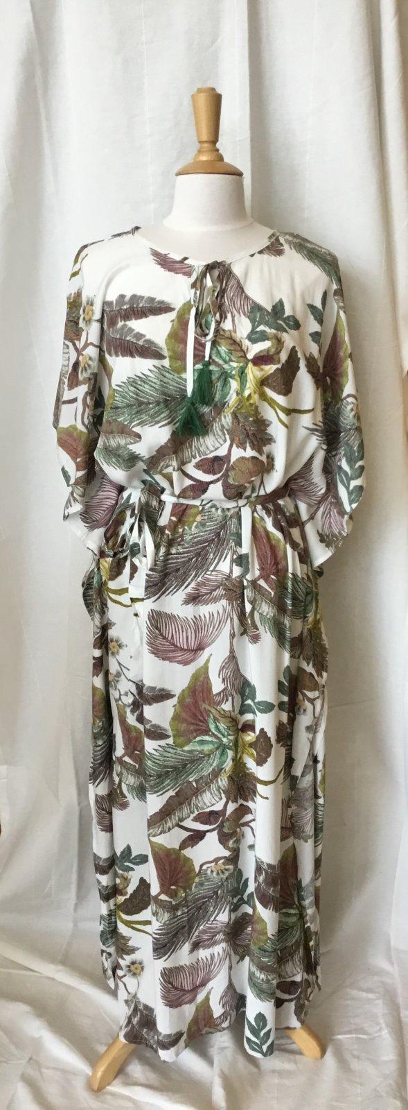 Sisters Tropical Maxi Dress