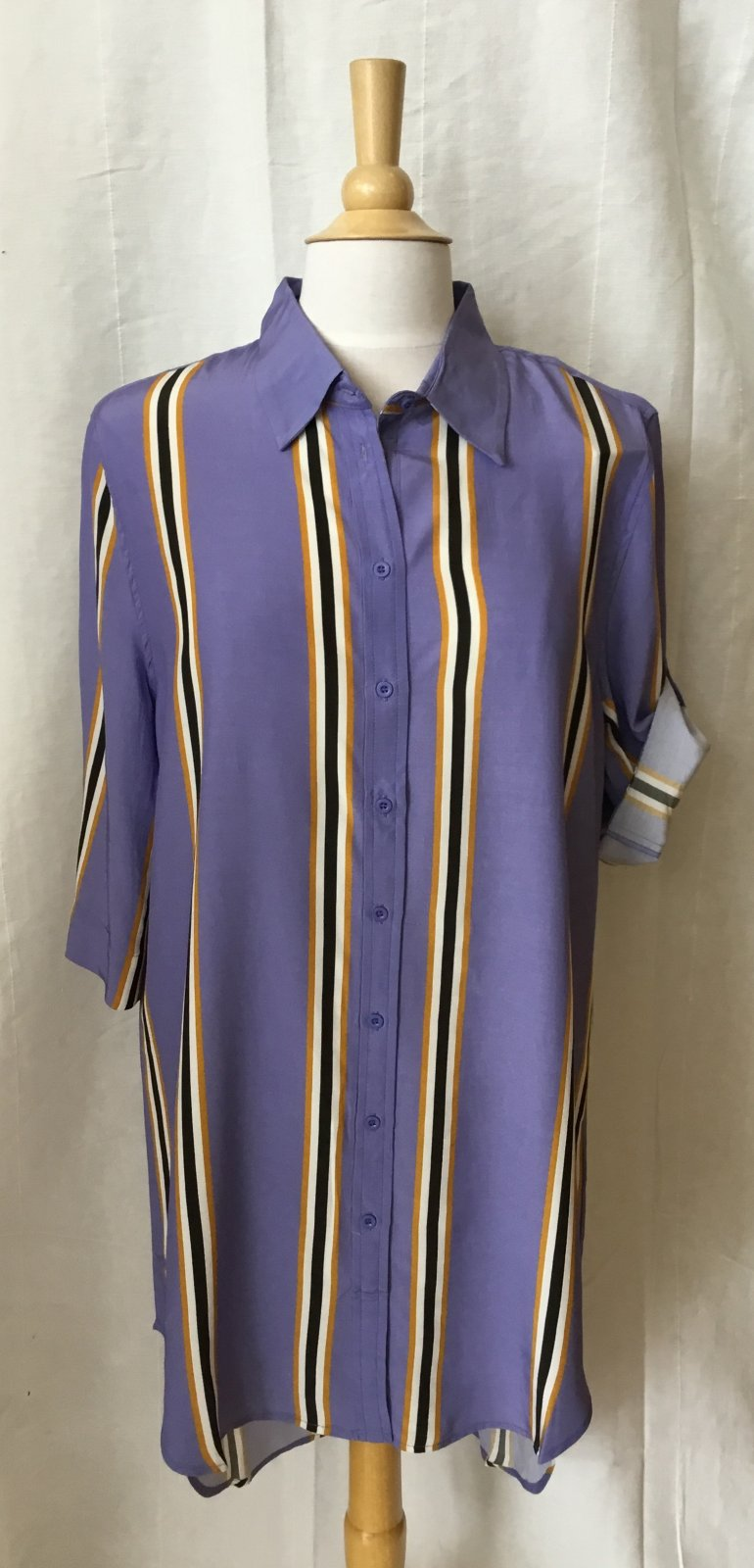 Baloot Purple stripe Tunic/Dress