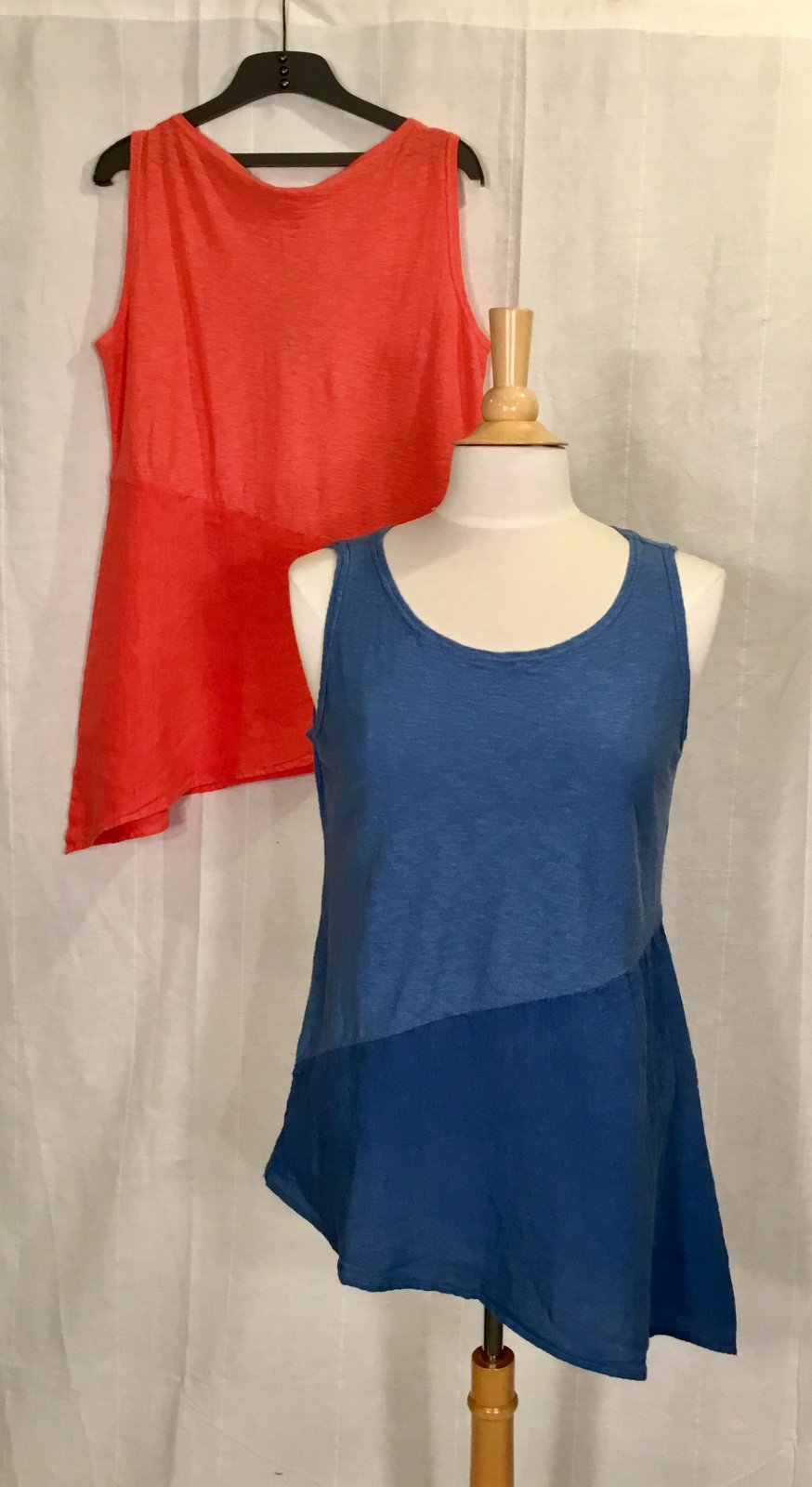 Cut Loose Asym Tank Tunic