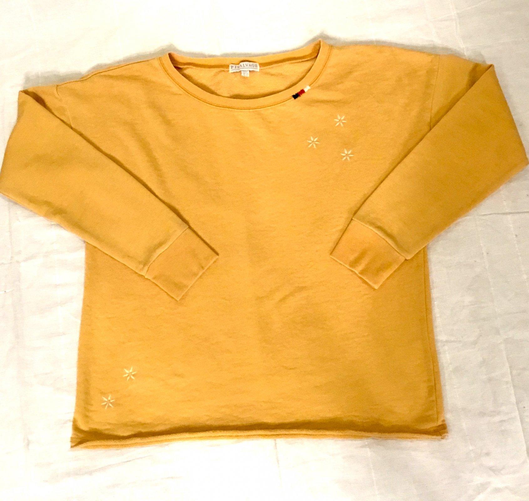 PJ Salvage Sweatshirt - Mustard