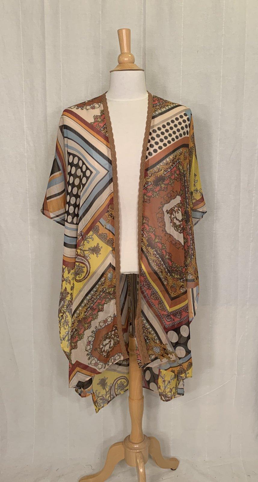 Mystree Patchwork Kimono