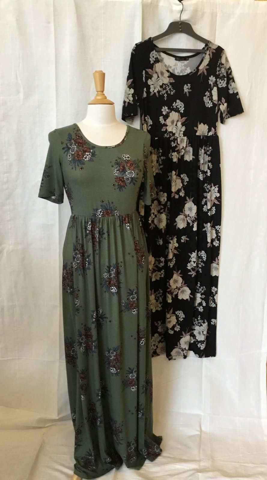 Mikarose Miranda Floral Maxi Dress