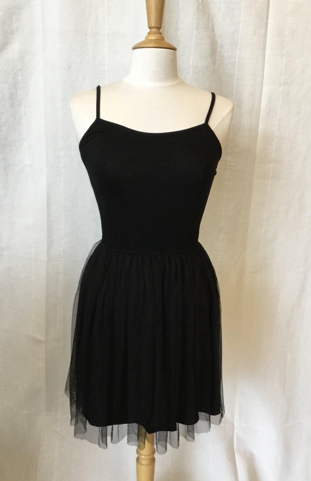 Mystree Mesh skirt Tank Dress