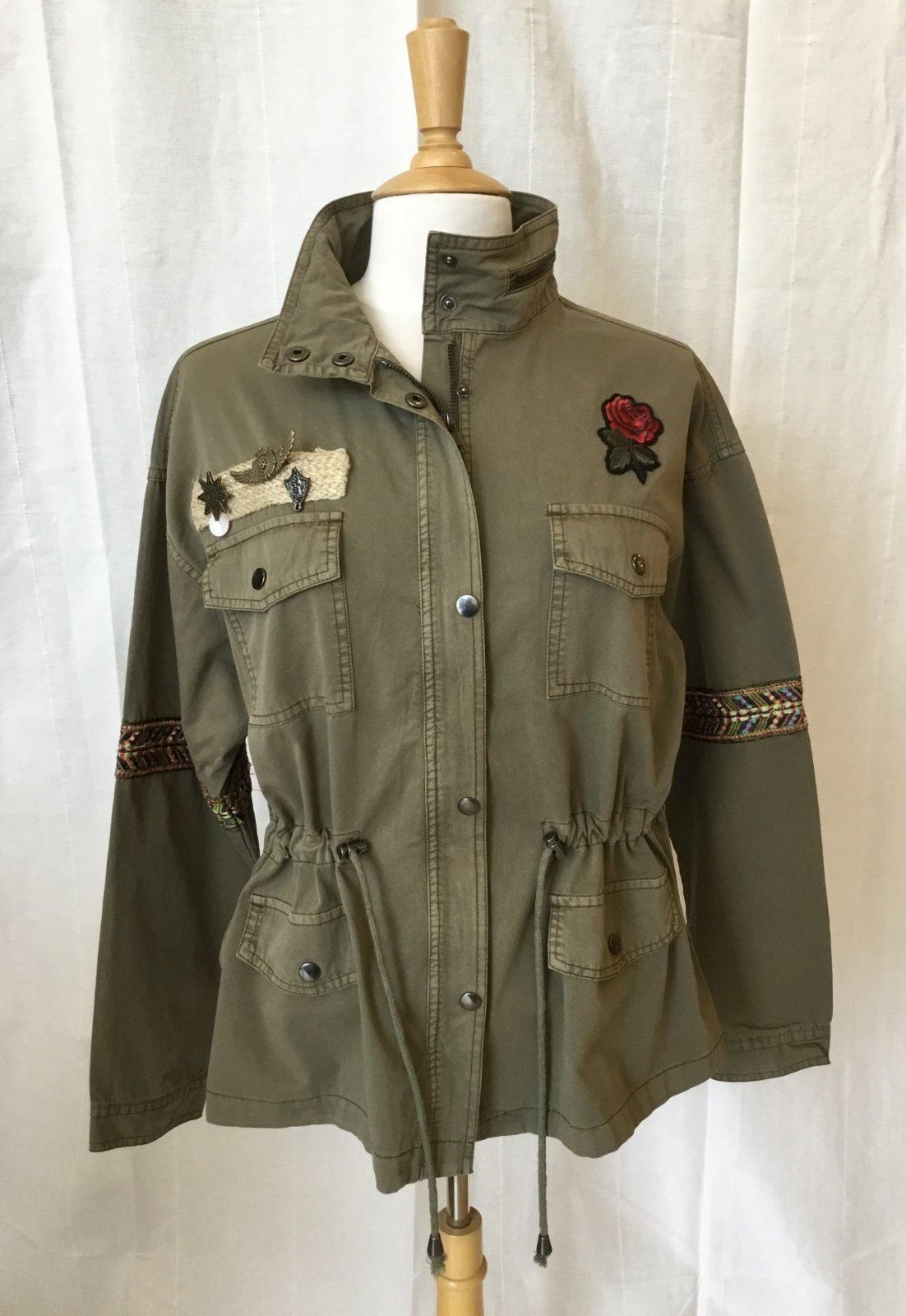 Esqualo Khaki Militarty Jacket