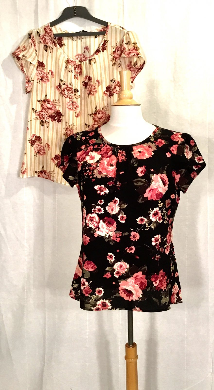 Mika Rose Floral Chiffon Top