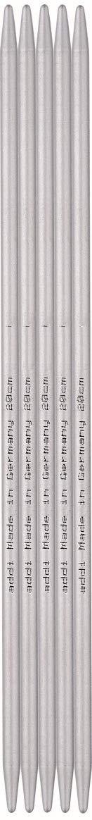 addi Aluminum Double Point Needles