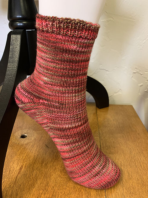 Custom Fit Sock -- Pattern Only