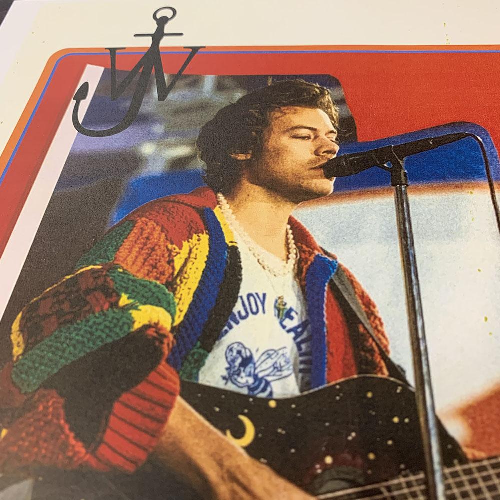 JW Anderson Colourblock Patchwork Cardigan Kit