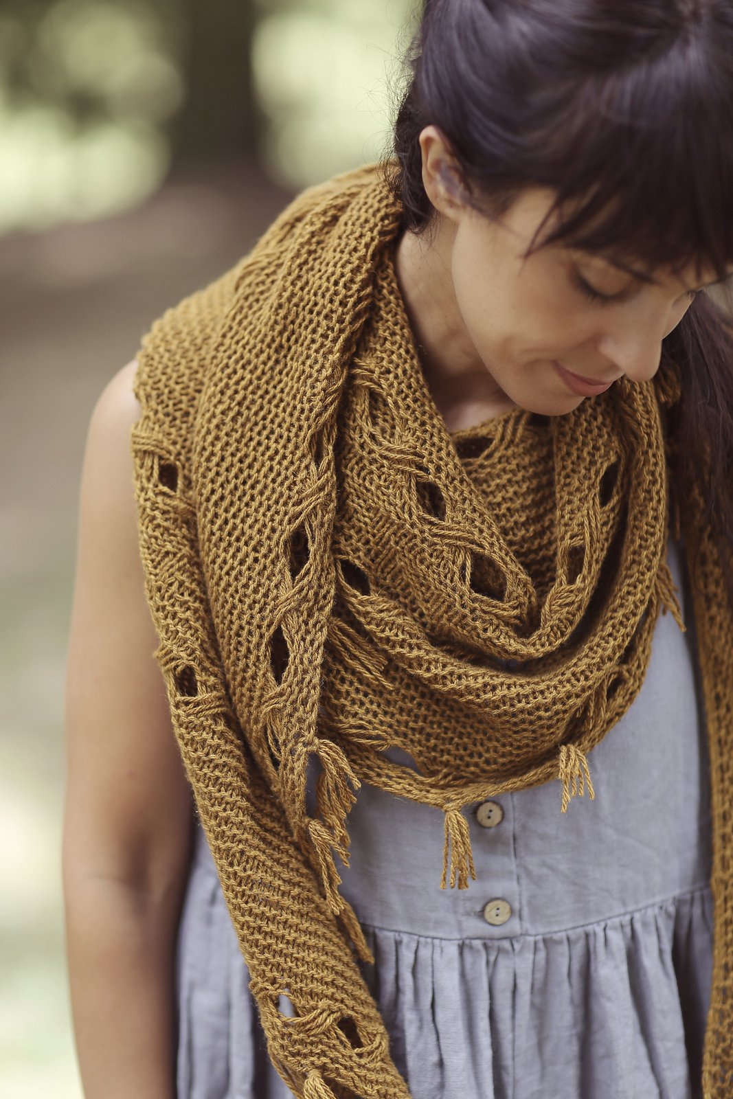 Hipster Shawl -- Pattern Only