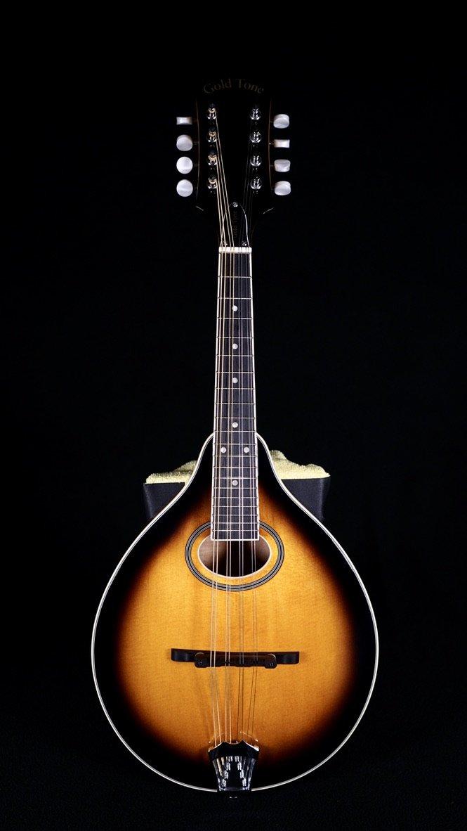Gold Tone GM-50+ A-Style Mandolin w/ Electronics and Bag