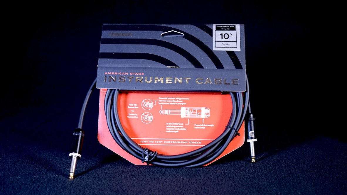 Planet Waves American Stage Series Cable 10FT PW-AMSG-10