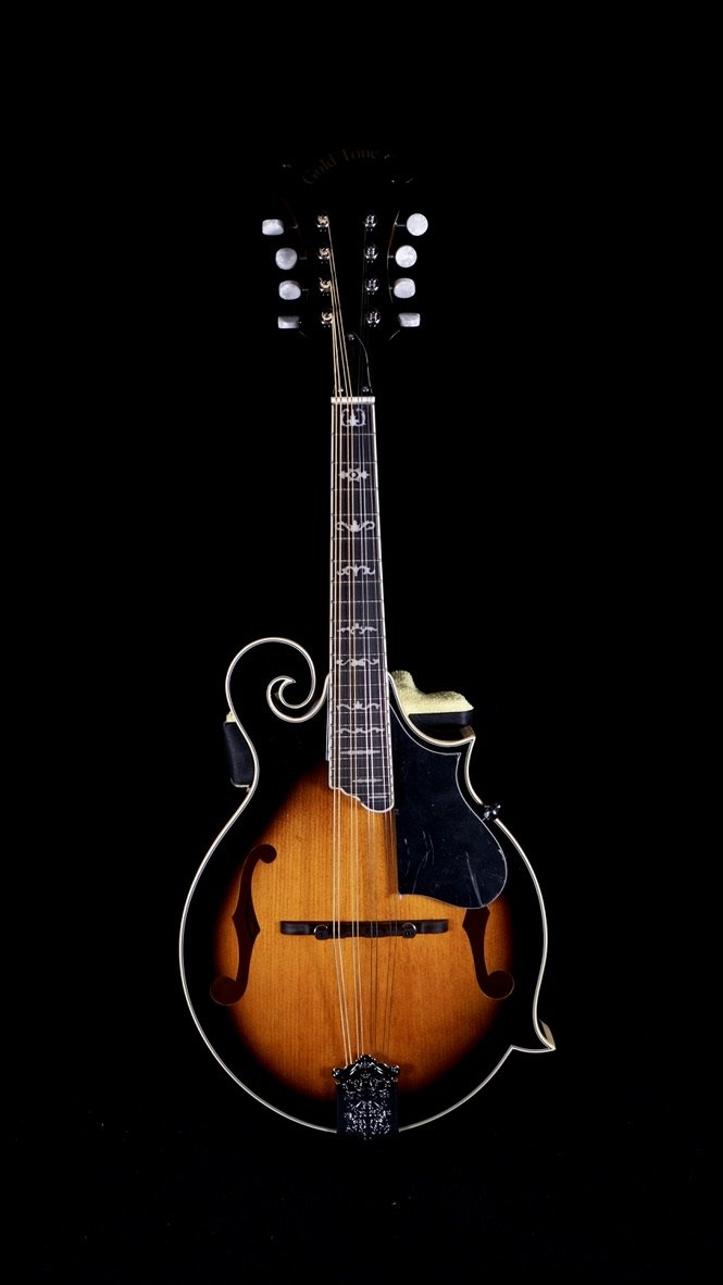 Gold Tone GM-35 F-Style Mandolin with Case