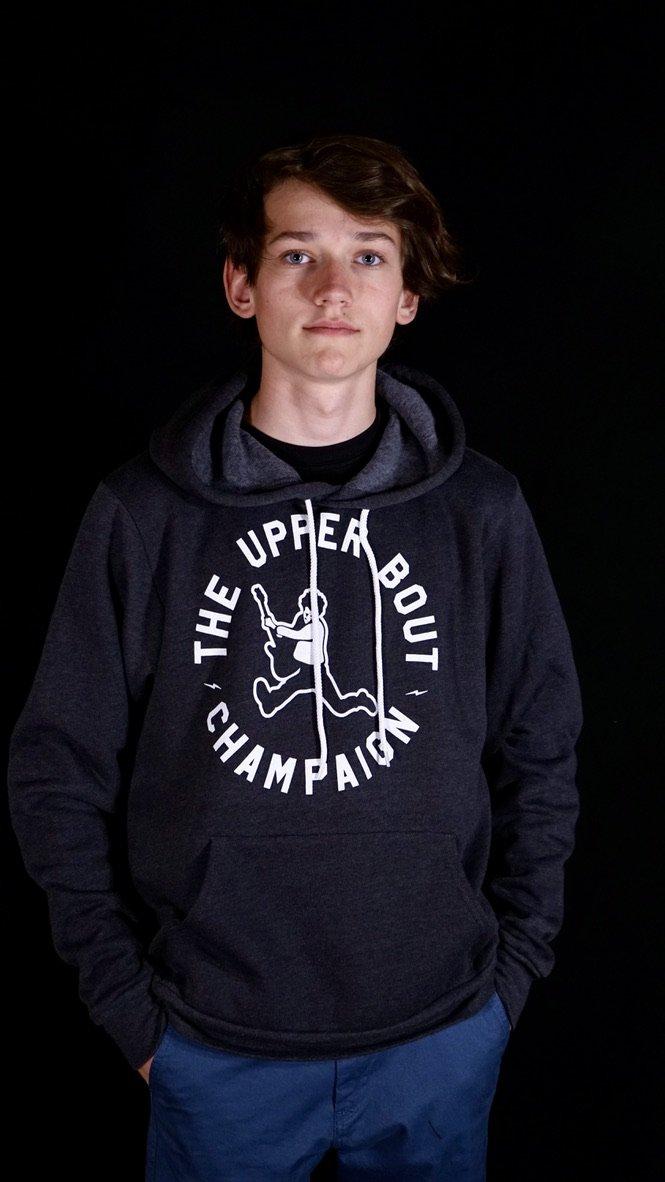 The Upper Bout Hoodie 2019 Dark Grey Heather XL