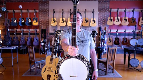 Dean Meece, Banjo Instructor