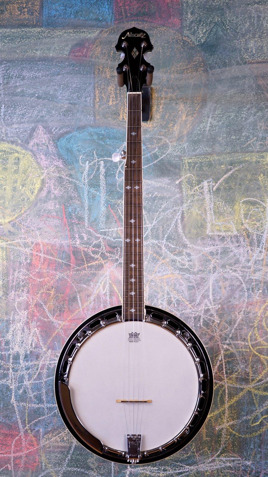 Used Alvarez 5-String Banjo w/ HSC