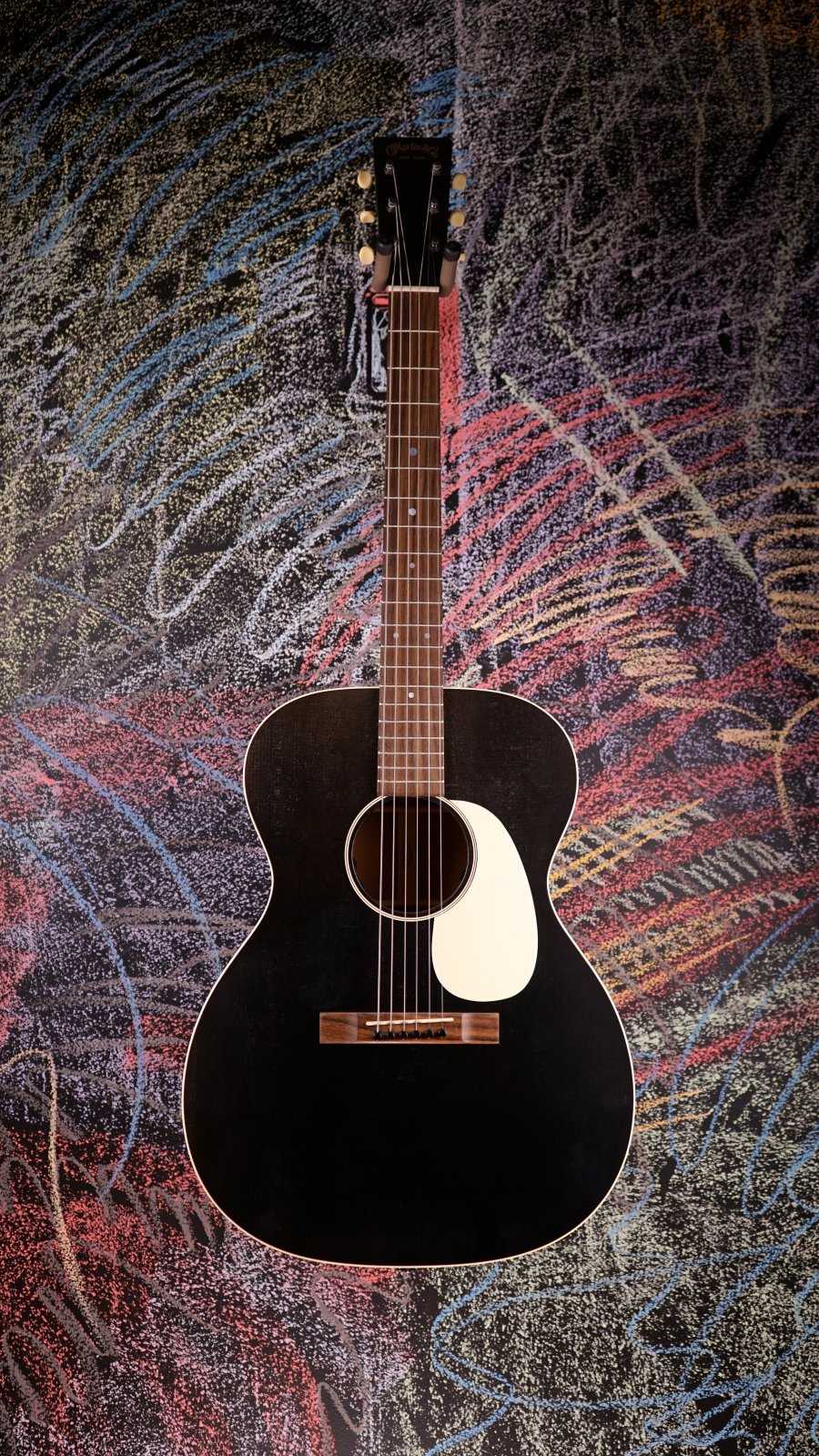 Martin 000-17E Black Smoke w/Electronics