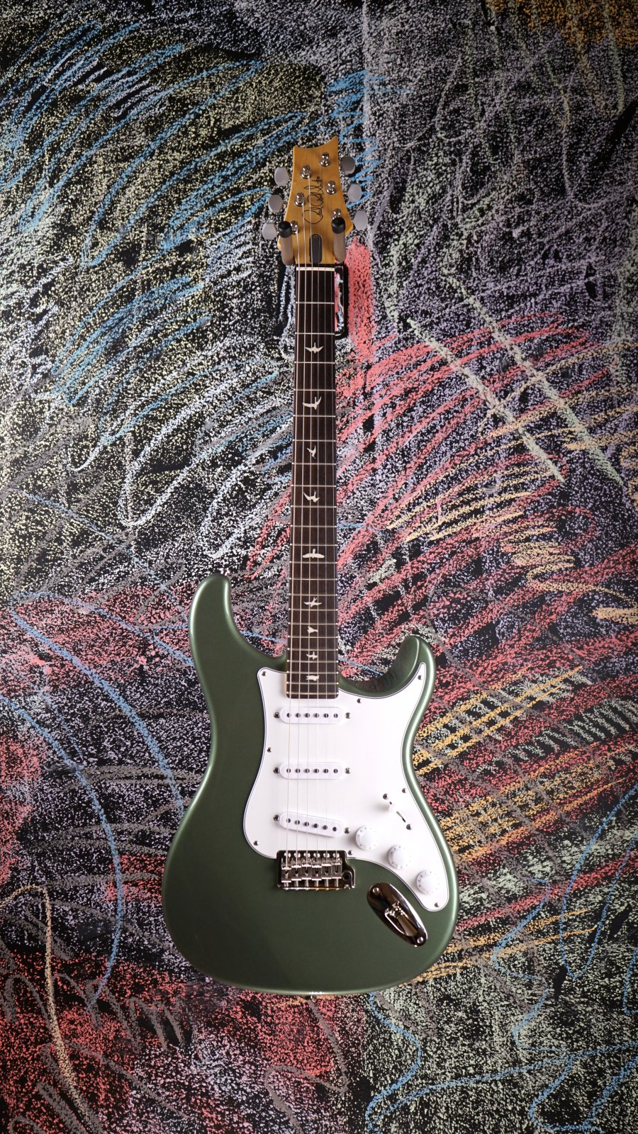 Paul Reed Smith Silver Sky Orion Green 00082536205029