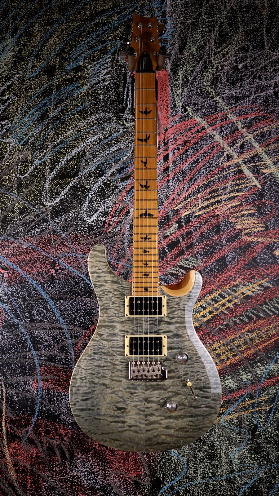 Limited SE Custom 24 Roasted Maple Trampas Green