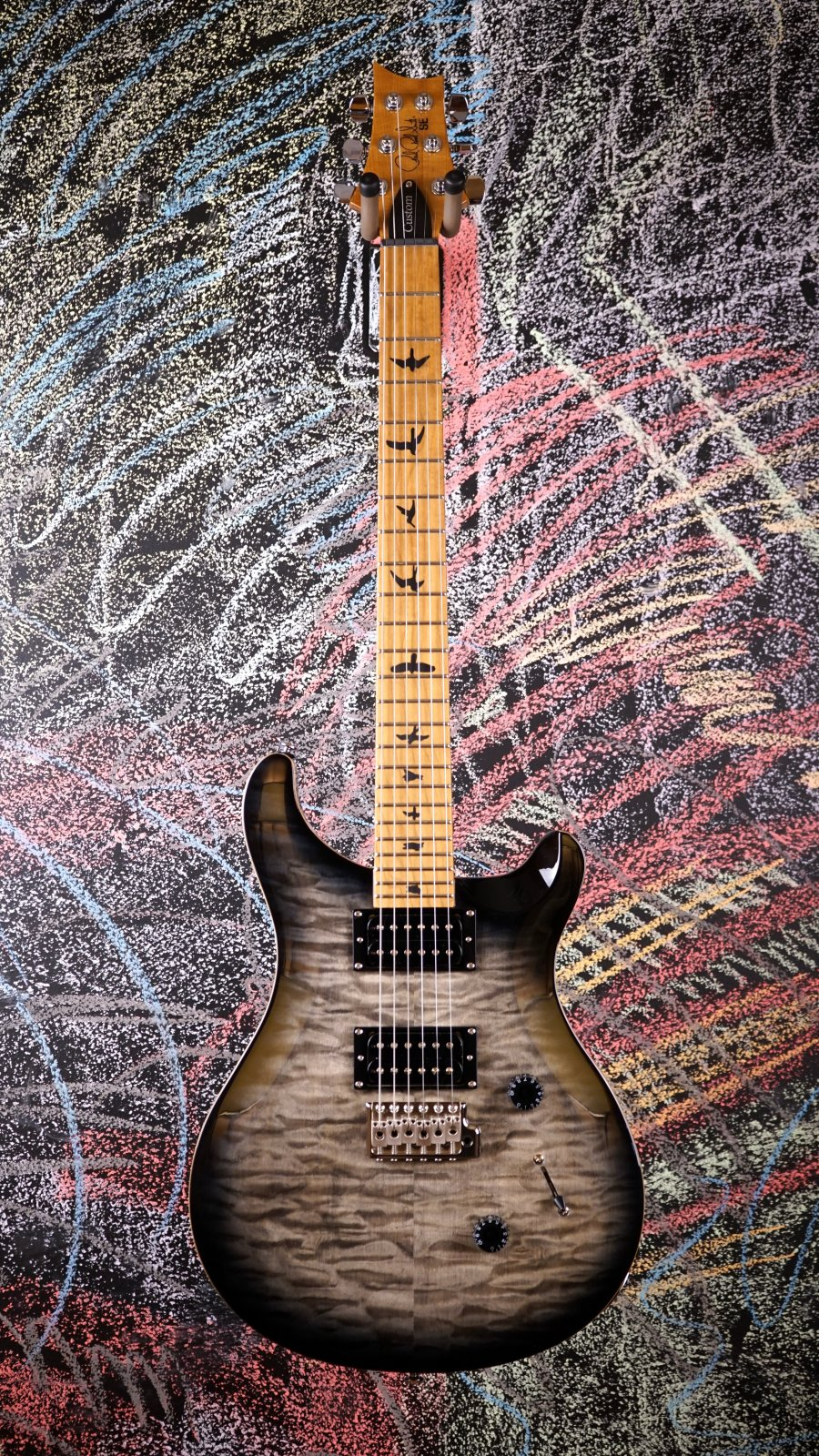 Limited SE Custom 24 Roasted Maple Charcoal Burst