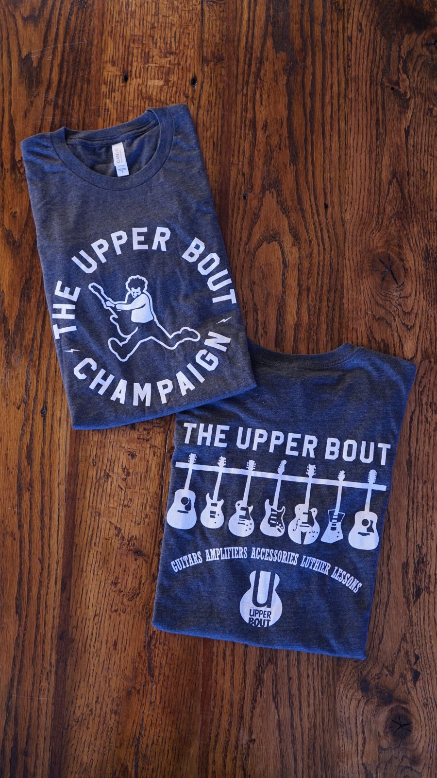 The Upper Bout T-Shirt 2019 Dark Grey Heather Small