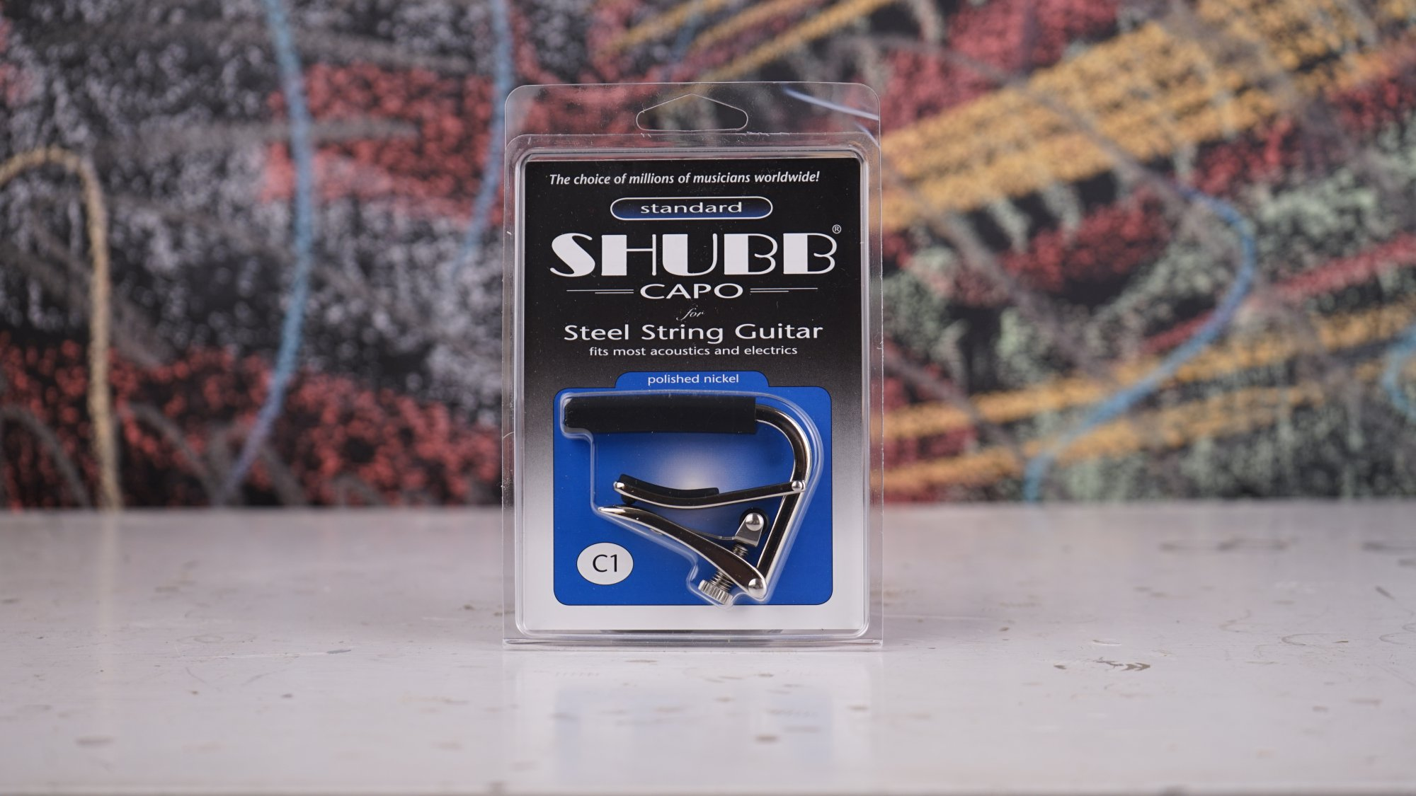 Shubb Steel String Capo Nickel SC1