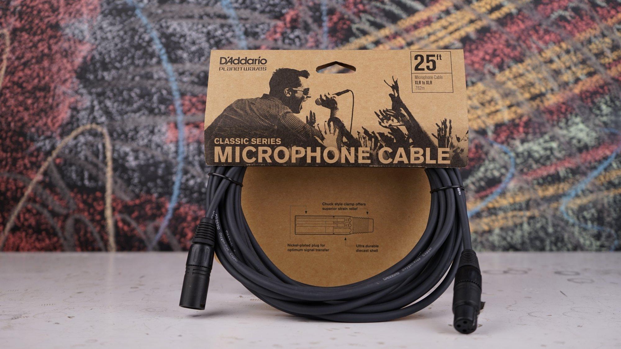 Planet Waves Classic Cables 25' Microphone XLR PW-CMIC-25