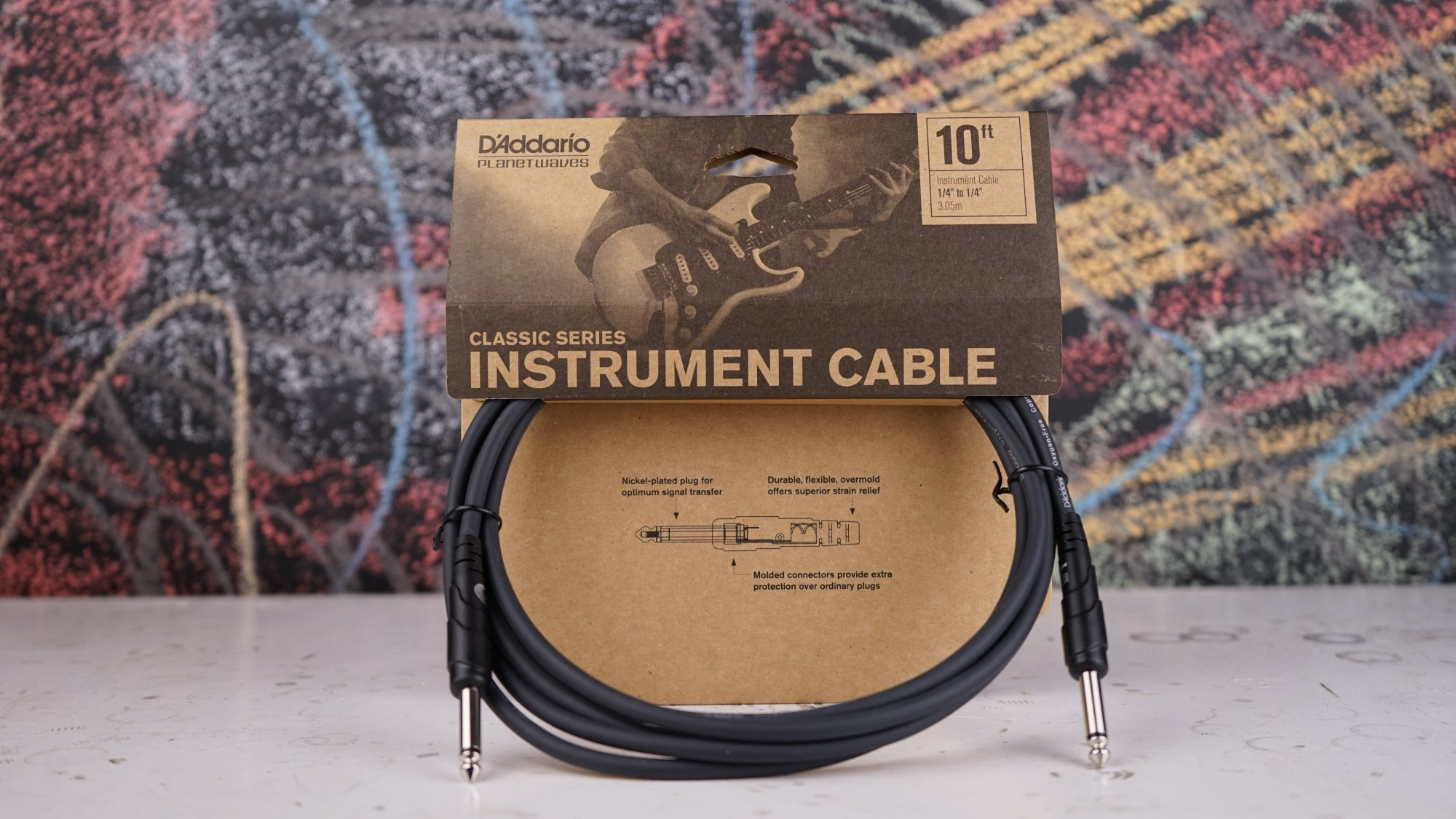 Planet Waves Classic Cables 10' Instrument PW-CGT-10