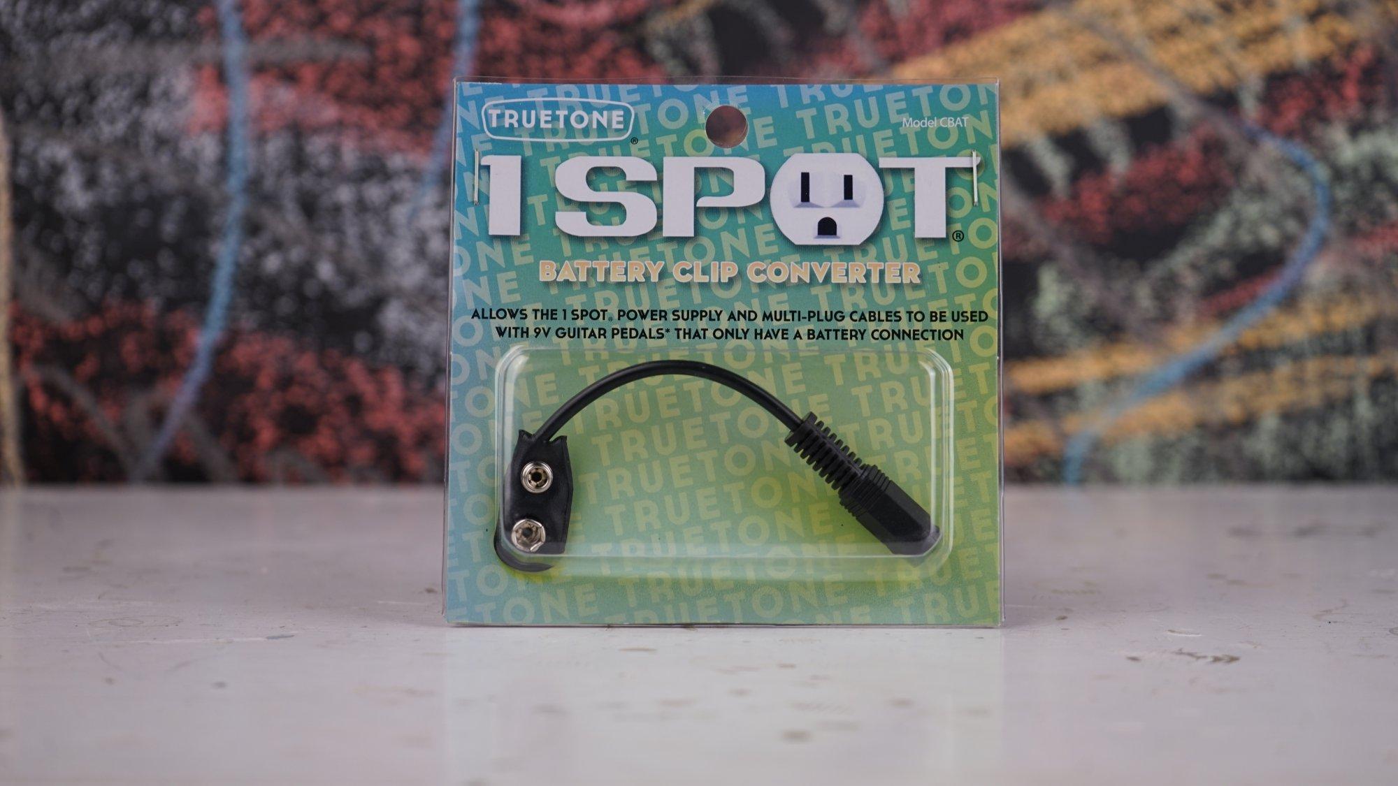 1 Spot 9V Battery Clip Converter CBAT