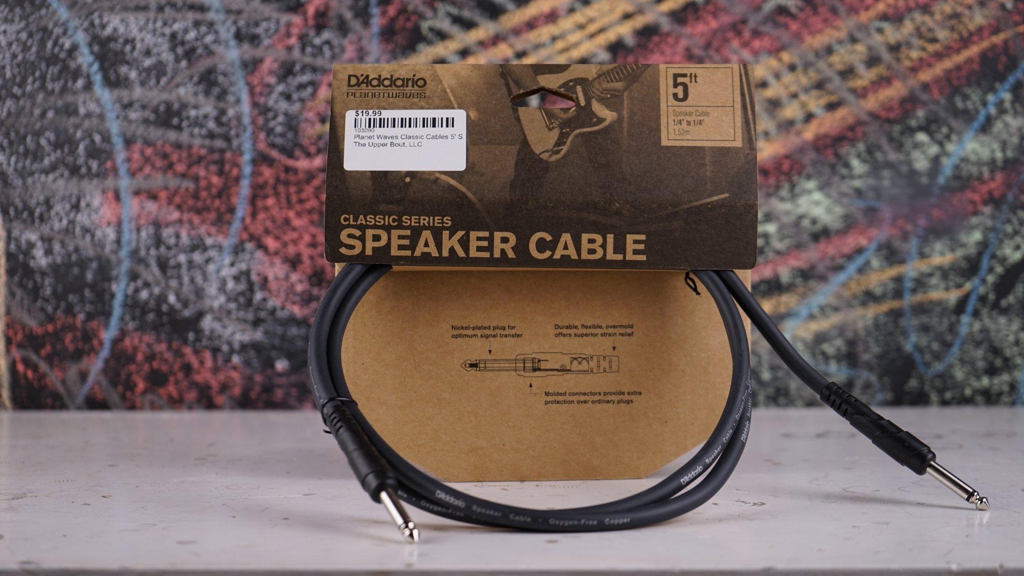Planet Waves Classic Cables 5' Speaker PW-CSPK-05