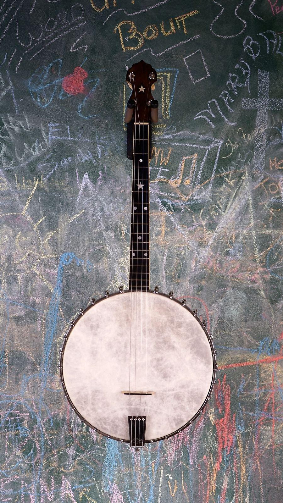 USED 1924 Vega Whyte Laydie Tenor Banjo w/ case