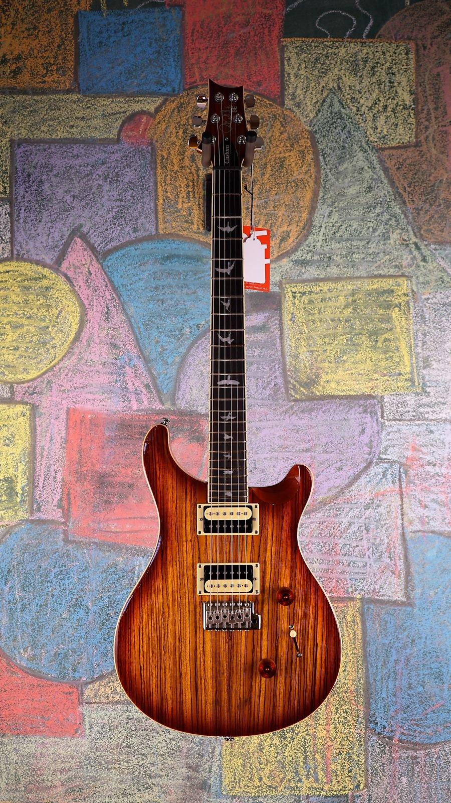 PRS SE Custom 24 Zebrawood