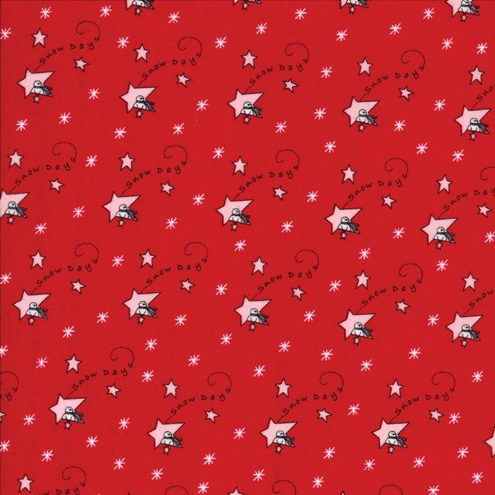 Merry Days Stars Red