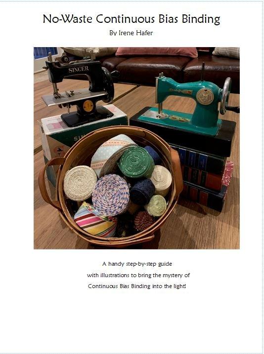No-Waste Continuous Bias Binding- Digital Download